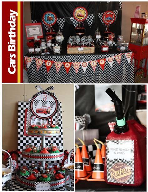 cars theme decorations disney cars birthday pizzazzerie