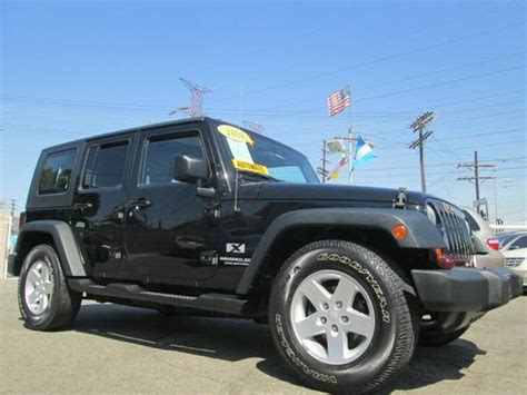 Los Angeles Jeep 2008 Jeep Wrangler Unlimited X For Sale In Los Angeles Ca