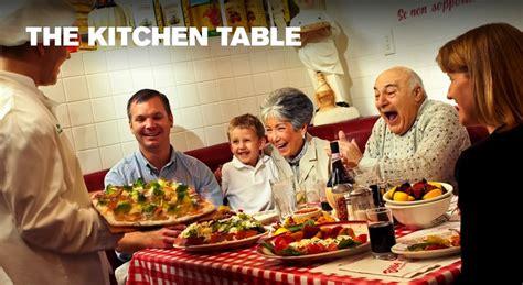buca di beppo kitchen table reservations book buca di beppo italian restaurant
