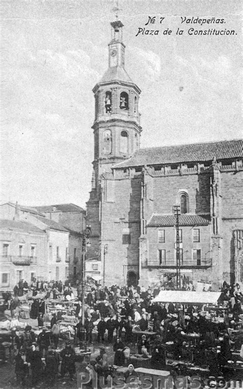 fotos antiguas valdepeñas plaza de la constituci 243 n de valdepe 241 as fotos antiguas