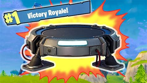fortnite jumper new fortnite update glider jump pad jumping to the sky