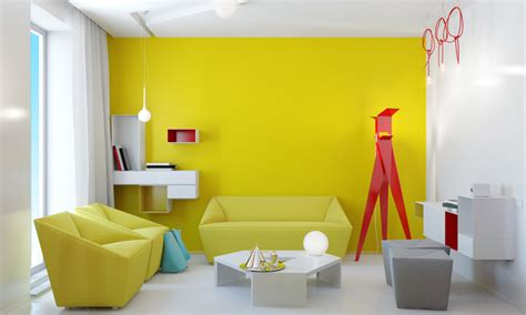 decoracion de interiores en amarillo vix