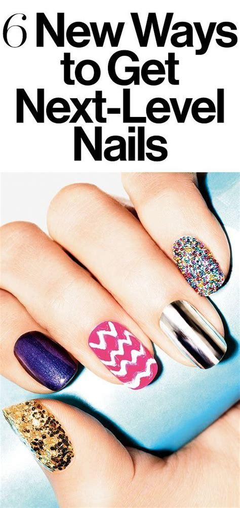 7 Fabulous Nail Trends To Try This Season by 1000 Ideas About New Nail On Nail