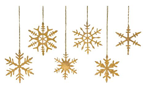 snow flake ornaments gold snowflake ornaments jayson home