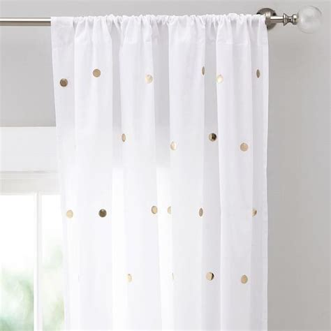 white gold curtains nate berkus metallic gold and cream curtain panel