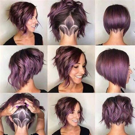 pixie haircut ombre purple ombre for short hair love that color hair
