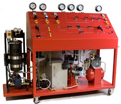 hydrostatic test bench liquid pumping systems on maxpro technologies inc