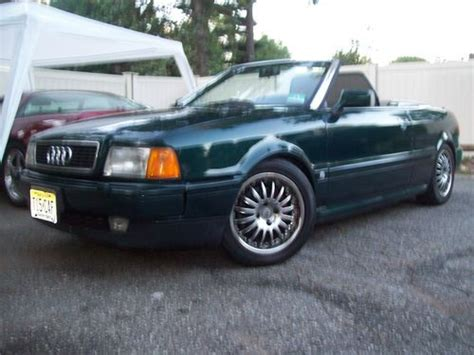 how cars run 1996 audi cabriolet transmission control find used 1994 audi 90 cabriolet convertible 87k miles manual transmission in bethesda maryland