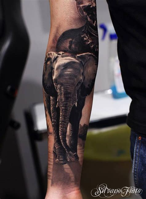 realistic sleeve tattoo realistic elephant sleeve best design ideas