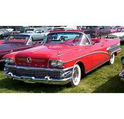 Buick Convertible 1958 2jpg  Wikimedia Commons