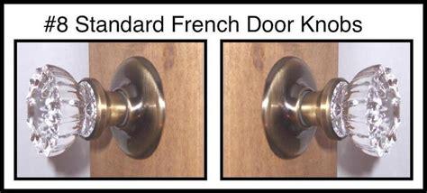 Hiding Door Knob by Reproduction 1920 Depression Glass Door