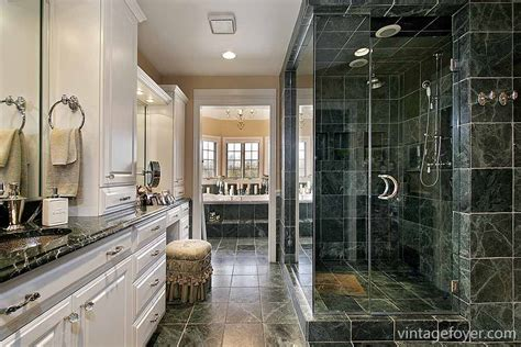 pics for gt dark green marble bathroom