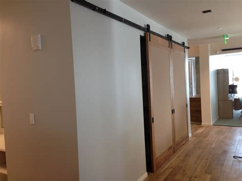 Modern Sliding Barn Door Non Warping Patented Honeycomb Lightweight Barn Door