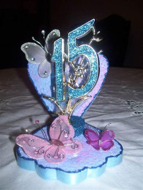 adorno de quince en mariposa adornos centros de mesa originales y preciosos fiesta 15 a 241 os