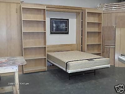 murphy bed full size murphy library bed full size cabinet construction plans