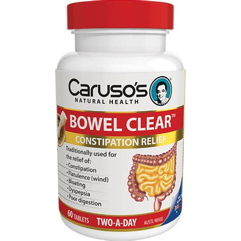 Cleared For Take Product by Caruso S Bowel Clear Supplements Tablets Buy