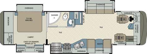 berkshire floor plan forest river berkshire 34qs 340 class a motorhome