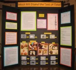 8th grade science fair display board full board