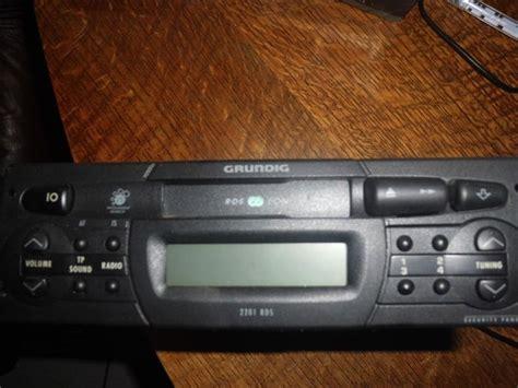 autoradio cassette autoradio cassette grundig type wkc 2201 rds catawiki