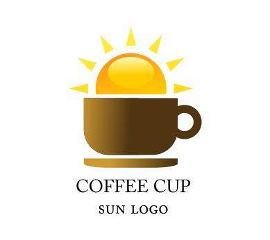 coffee shop logo design inspiration vector coffee shop sun food logo inspiration download