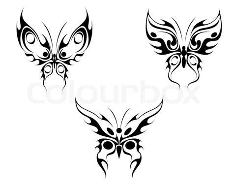 Tattoovorlagen Blumen Und Sterne 5100 by Butterfly Stock Photo Colourbox