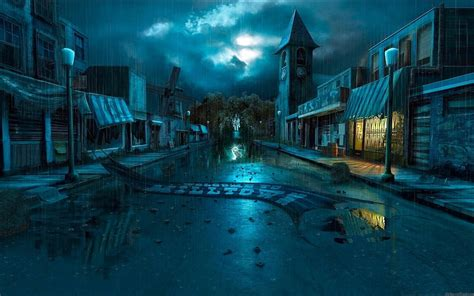 wallpaper 3d city fantasy city wallpapers pictures images