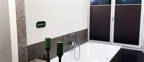 badezimmer plissee blickdichtes plissee im badezimmer