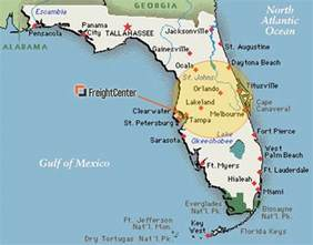 us map without florida what does the new csx terminal for florida shippers