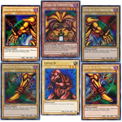 Yugioh Instant Win - one of a kind i am a god exodia heart of the all day animay