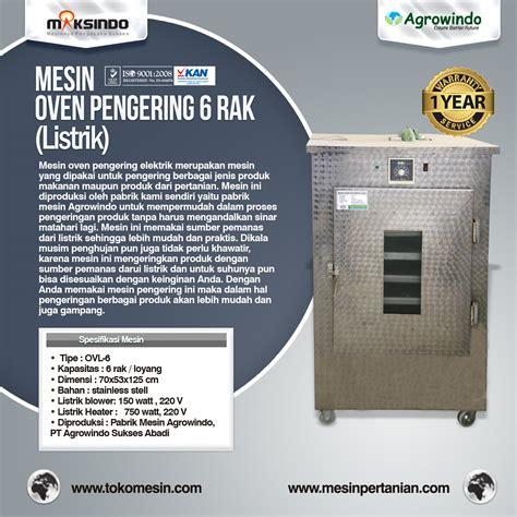 Oven Listrik Di Bandung jual mesin oven pengering stainless listrik di bandung