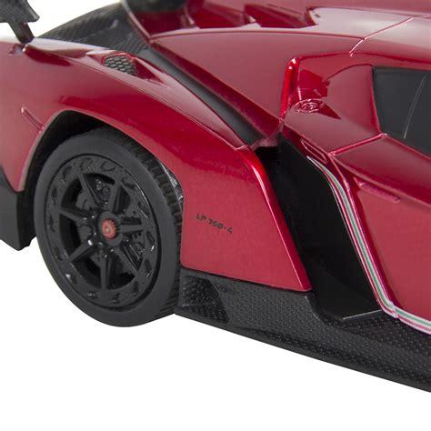 Rc Lamborghini Imitation Racing 1 24 officially licensed rc lamborghini veneno sport racing car w 27mhz ebay