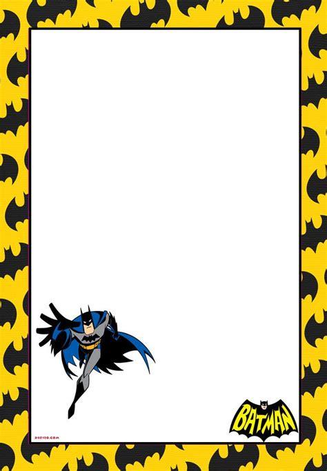 free batman invitation template free printable batman forever invitation template