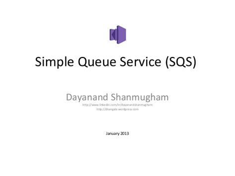 amazon queue amazon simple queue service