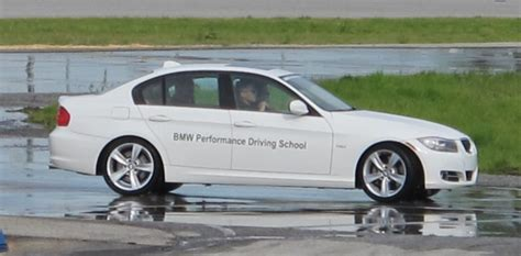 bmw performance driving school class is in session