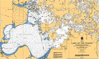 lake of the woods canada map lake of the woods map