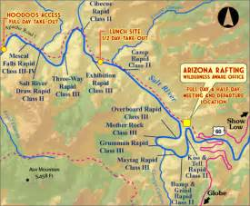 black river arizona map your salt river rafting adventure arizona salt