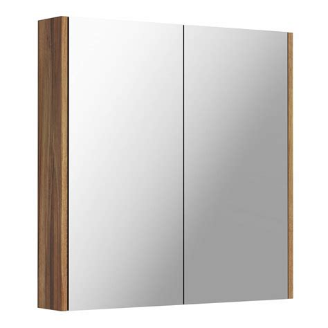Walnut Mirror Bathroom Cabinet | walnut 2 door bathroom mirror cabinet victoriaplum com