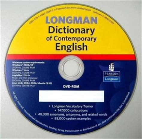 The Contemporary Dictionary Second Edition longman dictionary of contemporary 5th edition free ebooks