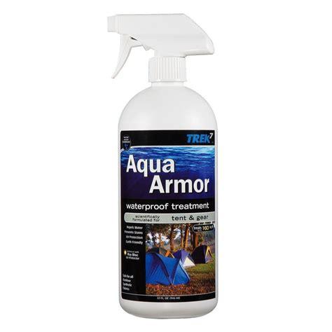 Simply Spray Upholstery Trek7 Aqua Armor 32 Oz Fabric Waterproofing Spray For