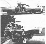 Vintage Pic Depicts Flattened 69 Charger In Head On Crash