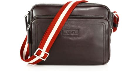 Bally Bottine Messenger Bag by Bally Leather Business Bag In Black For Lyst