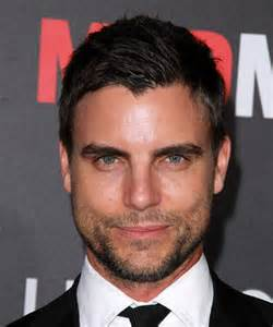 Colin egglesfield short straight casual hairstyle black