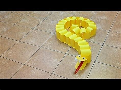 How To Make Paper Snake - paper snake