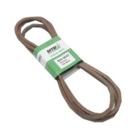 mtd replacement lawn mower deck drive  belt