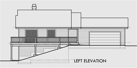 sloping lot house plans sloping lot house plans with basement house design plans