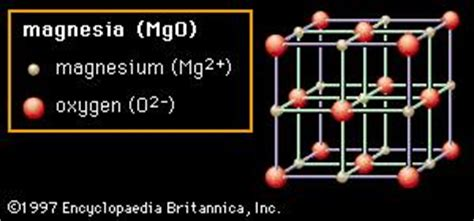 magnesium oxide chemical compound britannicacom