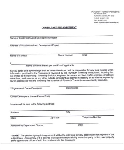 How Much Business Consultants Charge Mba by 18 Consulting Agreement Forms Sle Templates