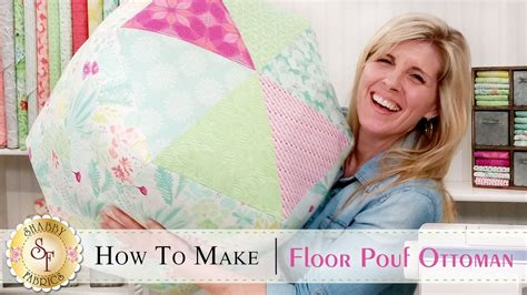 how to make pouf ottoman how to make a floor pouf ottoman with jennifer bosworth