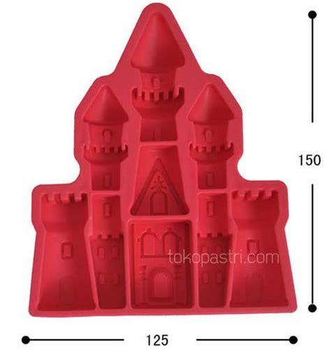 Cetakan Puding Mobil jual cetakan coklat bentuk istana kuno atau kastil tokopastri