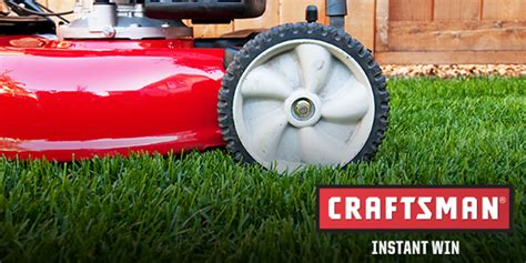 Shop Your Way Instant Win - shopyourway com craftsman lawn envy instant win game